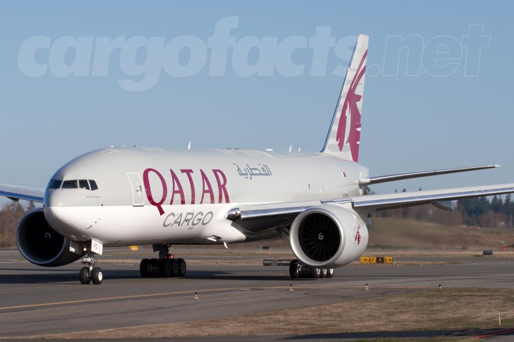 Qatar Cargo 777F