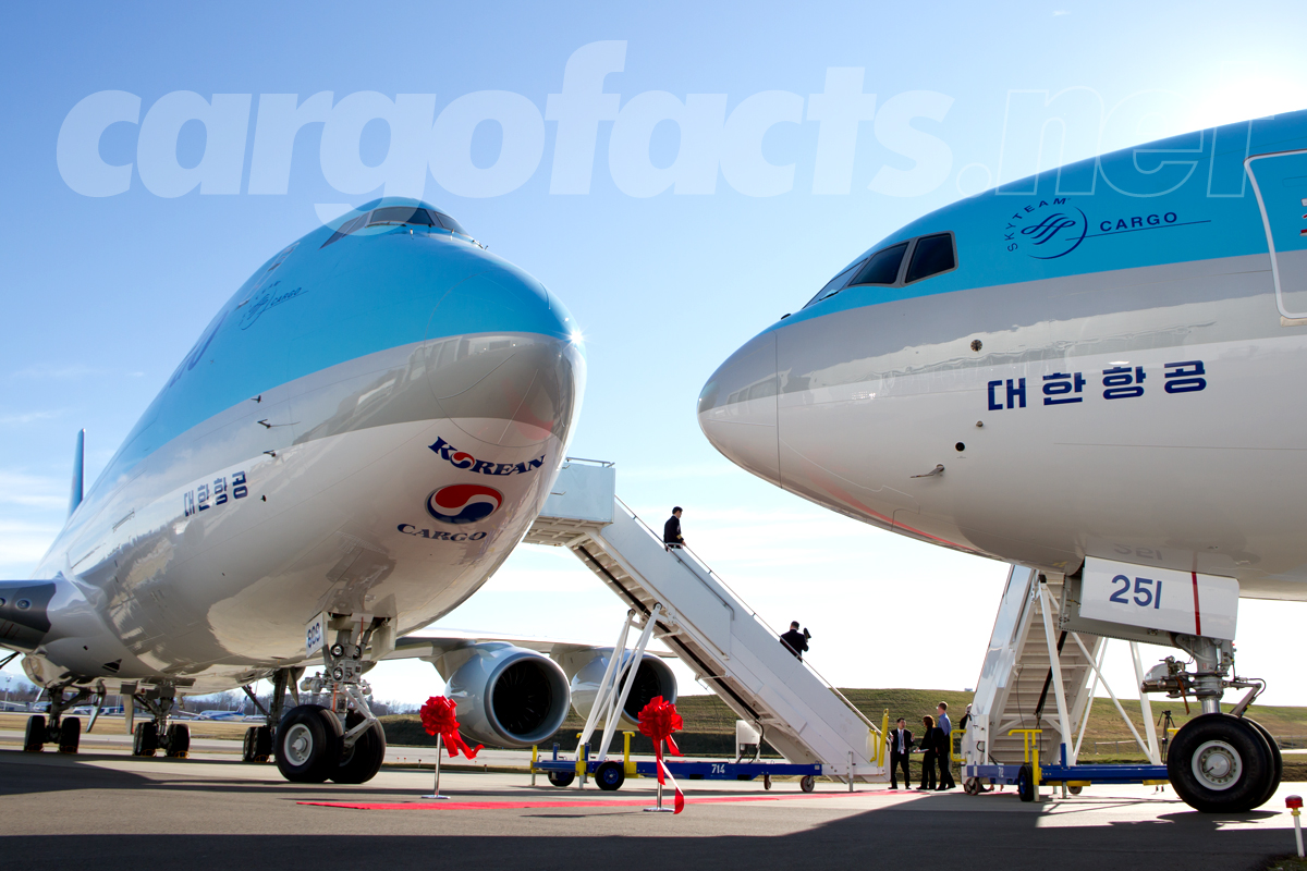 Korean Air Cargo Dual Delivery